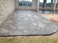 Decorative Concrete Patio Oklahoma City