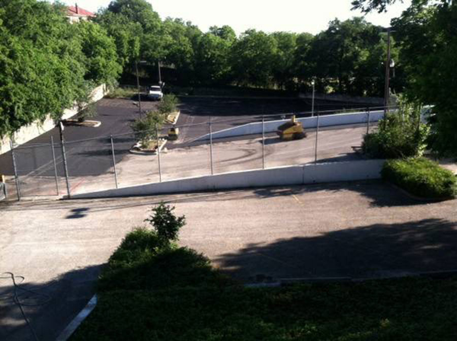 Resurfacing of Asphalt Parking Lot